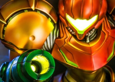 Metroid Samus art