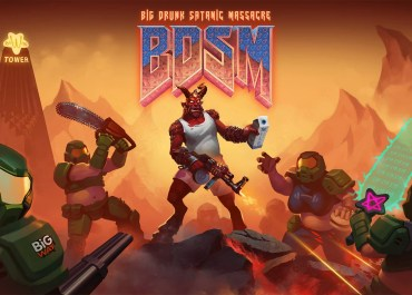 BDSM: Big Drunk Satanic Massacre keyart