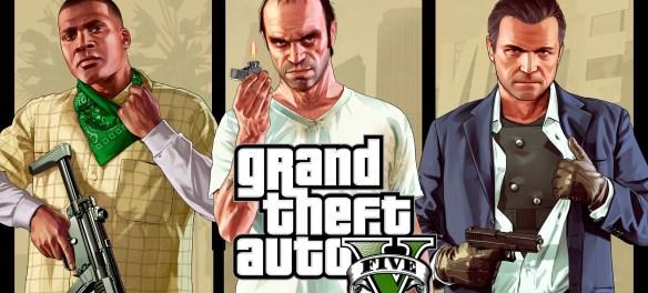 Grand Theft Auto V keyart