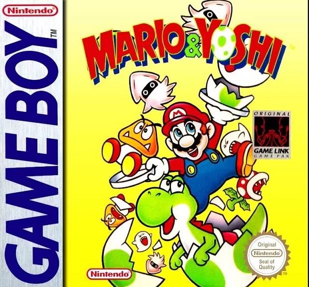 Mario and Yoshi Game Boy box art