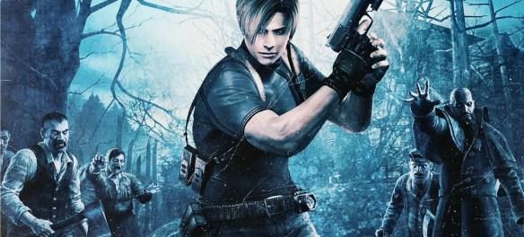 Resident Evil 4 keyart