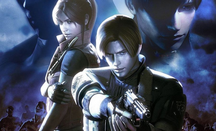 Resident Evil: The Darkside Chronicles key art