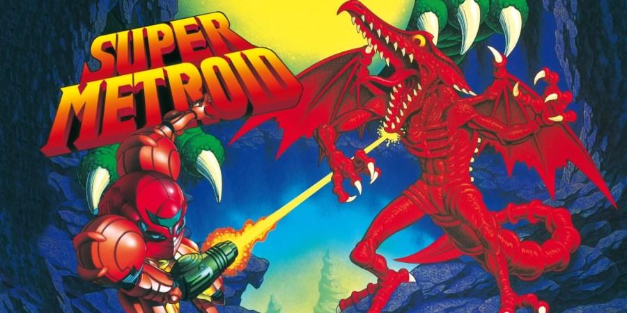 Super Metroid keyart
