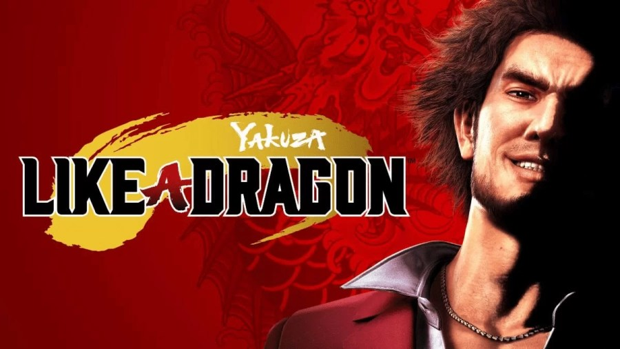Yakuza: Like a Dragon keyart