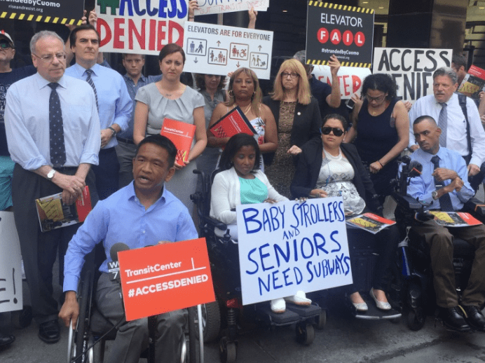 Disabled advocates would like to take a look at Andy Byford's subway plan for accessibility