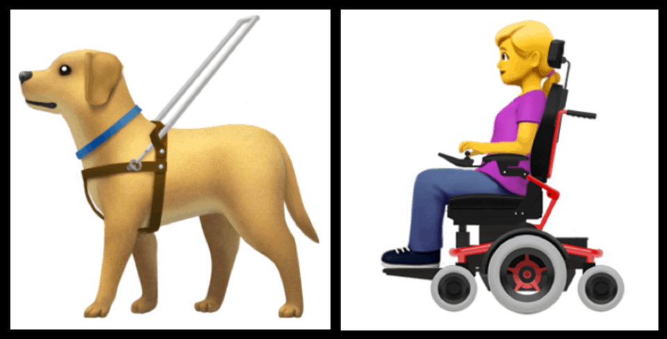 New Release will include Wheelchair Emojis