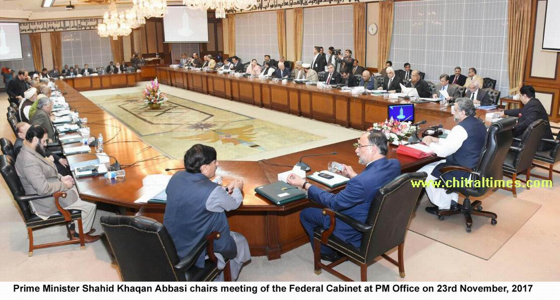Prime Minister Chairs Meeting Of The Federal Cabinet   Chitral TimesChitral  Times