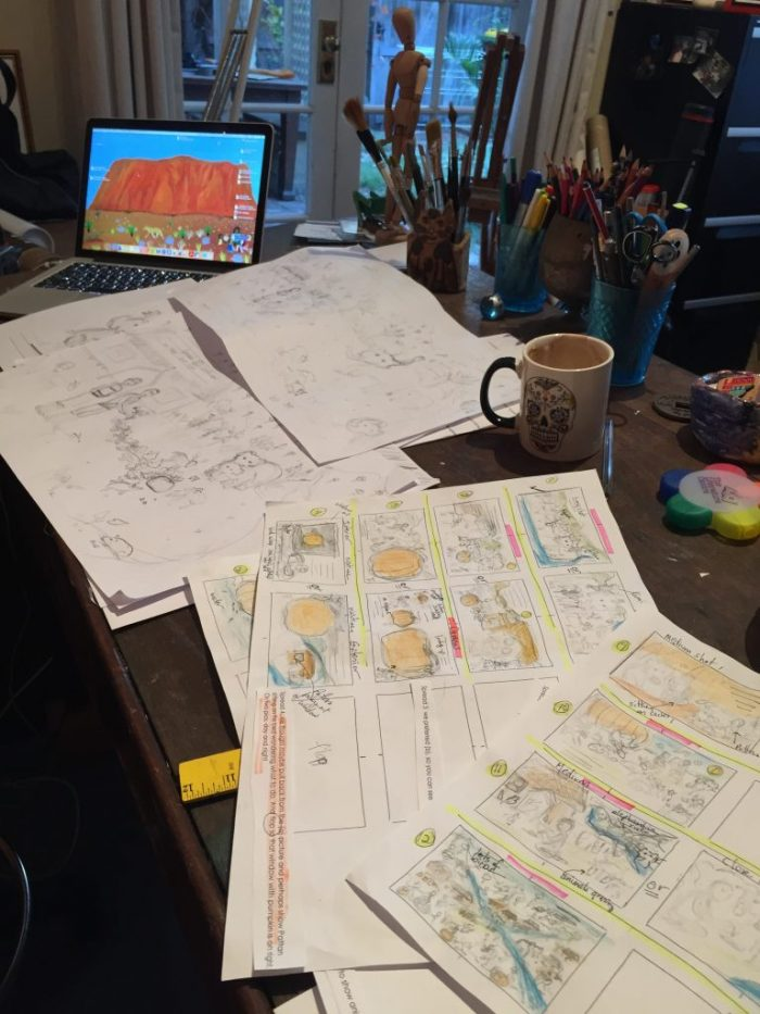 working-on-roughs-in-my-studio-copy