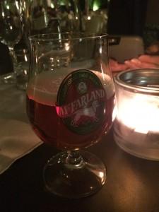 McFarland red beer!