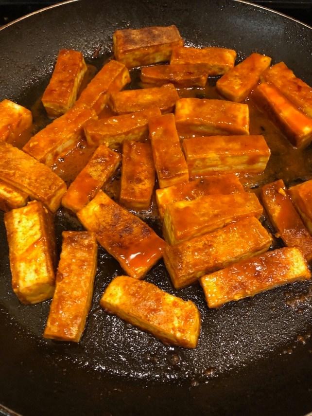Tofu for the tofu stuffing casserole recipe