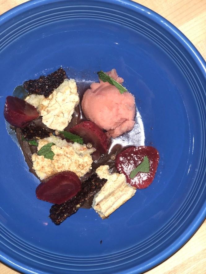 Strawberry Sangria Dessert