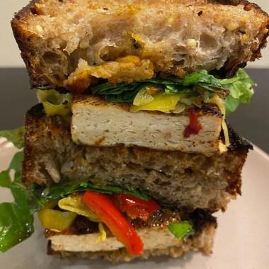 Balsamic Tofu Sandwich Recipe