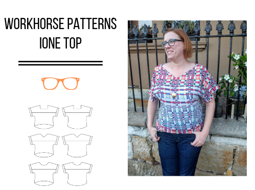 Workhorse Patterns Ione Top