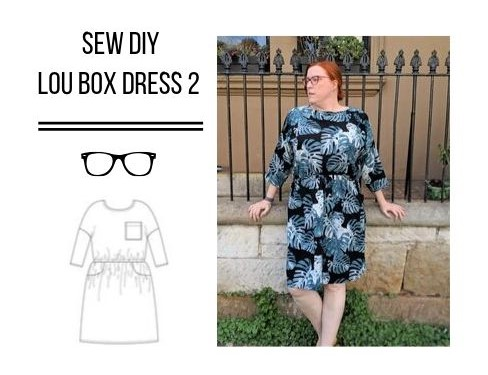Sew DIY Lou Box Dress v2 (Tester version)