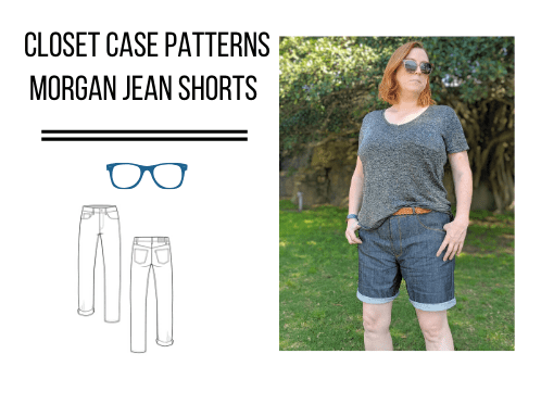 Closet Case Patterns Morgan Jeans (Shorts version)