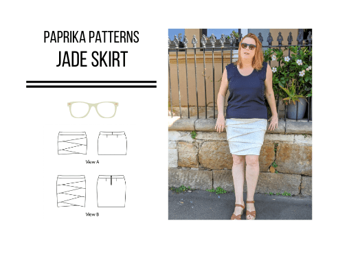 Pattern Review: Jade Skirt – Paprika Patterns (extended sizes!)