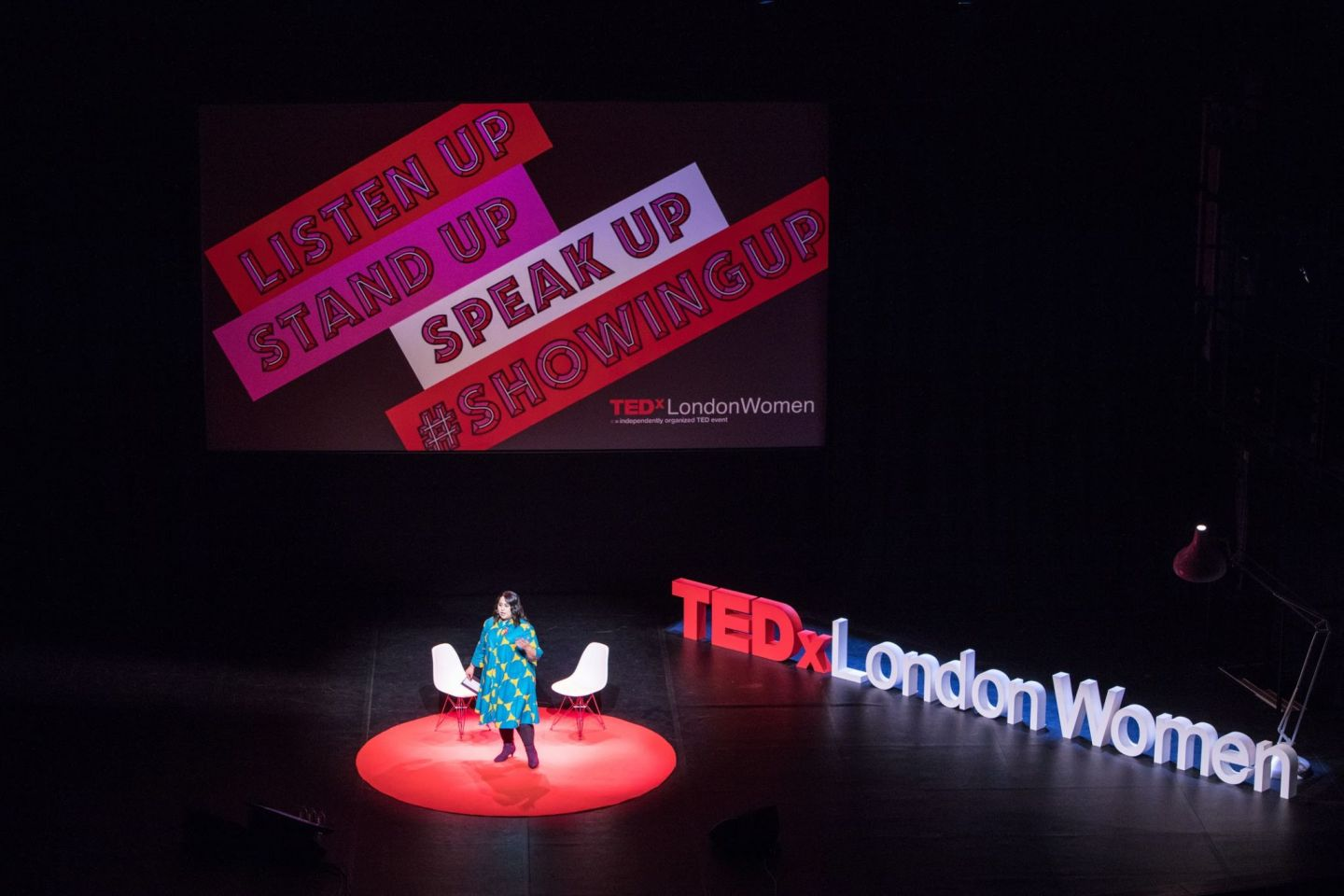 #SHOWINGUP For @TEDxLondon #TEDxLondonWomen