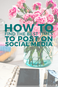 How to Find The Best Times to Post on Social Media