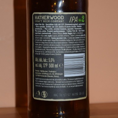 Hatherwood The Green Gecko IPA no 2