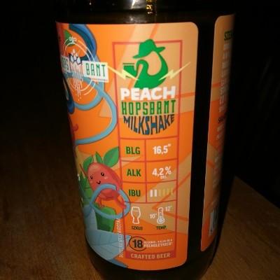 Peach Hopsbant Milkshake IPA