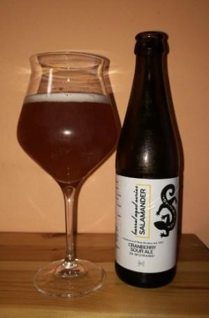 Browar Stu Mostów – Salamander Cranberry Sour Ale Bourbon BA