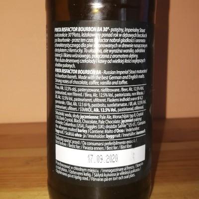PINTA - Risfactor Bourbon BA