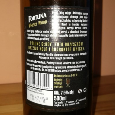 Fortuna Czarne Whisky Wood