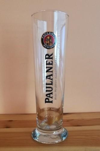 Szklanka do piwa od Paulanera - do weizena