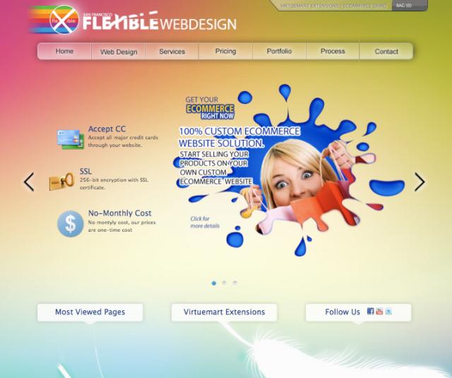 flexiblewebdesign.com Yeni Tasarımı