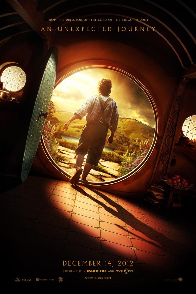 The Hobbit : Beklenmedik Yolculuk Afiş