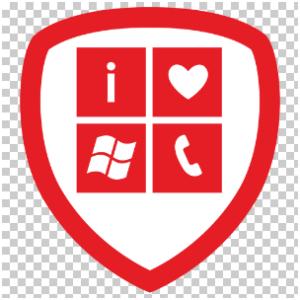 Foursquare Windows Phone Badge