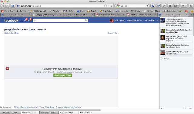 Sahte facebook sayfası