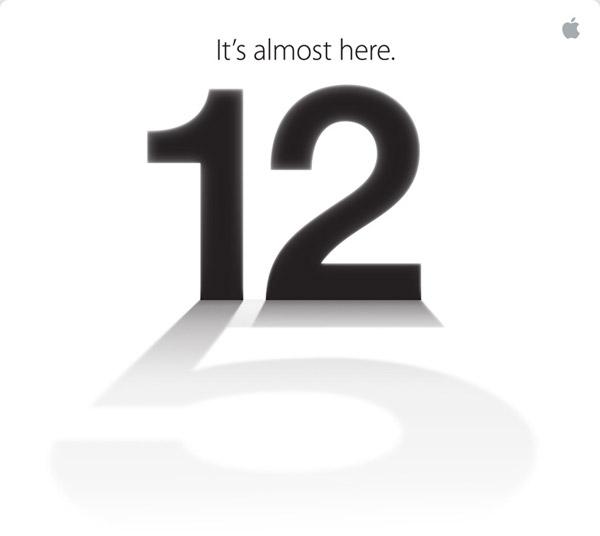 Apple 12 Eylül'de bir tanıtım düzenleyeceğini duyurdu. İşte Apple 12 Eylül İphone 5 davetiyesi