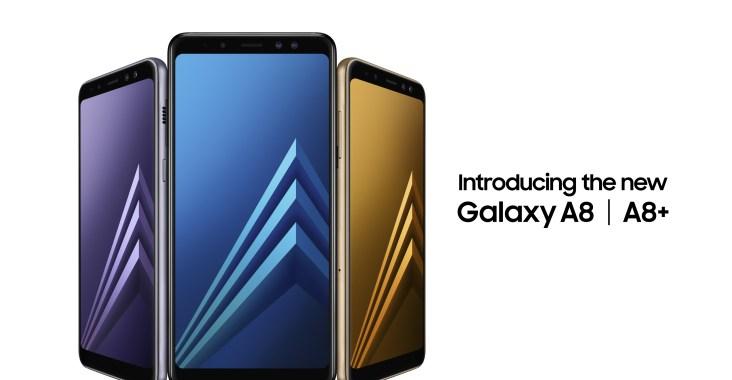 Galaxy A8+(2018) ve Galaxy A8(2018)