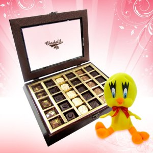 Luxurious Selection Chocolate with Love Teddy
