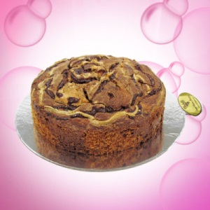 Naughty Walnut Orange Marble Cake