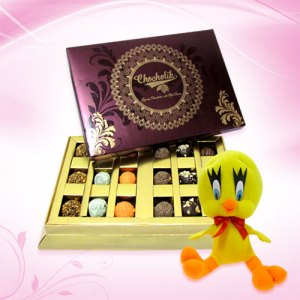 Ultimate Truffle Gift Box with Tweety Pie
