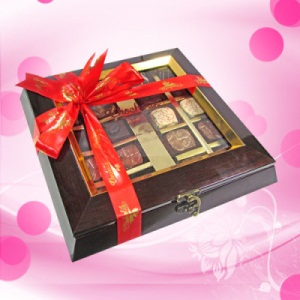 Authentic Assortment of Heavenly Chocolates