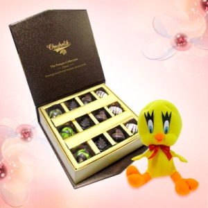 Pista and Nutty Chocolate Box with Tweety