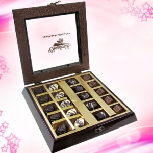 Sophisticated Chocolate Collection gift box