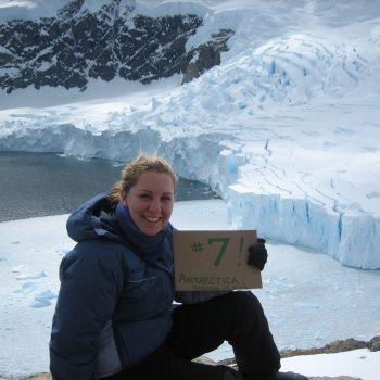 Tori Hogan in Antarctica