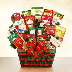 A Rockin Snackin Holiday Gift Basket