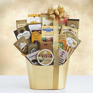Golden Holiday Gourmet