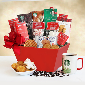 A Christmas Morning Starbucks Gift