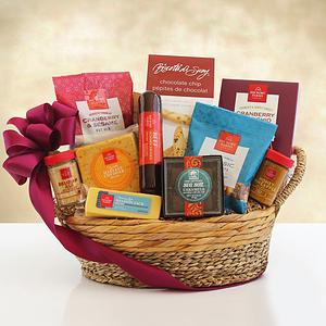 A Savory Hickory Farms Gift Basket