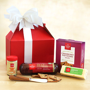 For the Holidays a Sampler from Hickory Farms