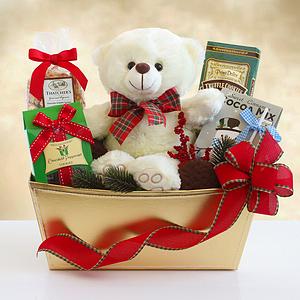 A Holiday Teddy Bear Gift