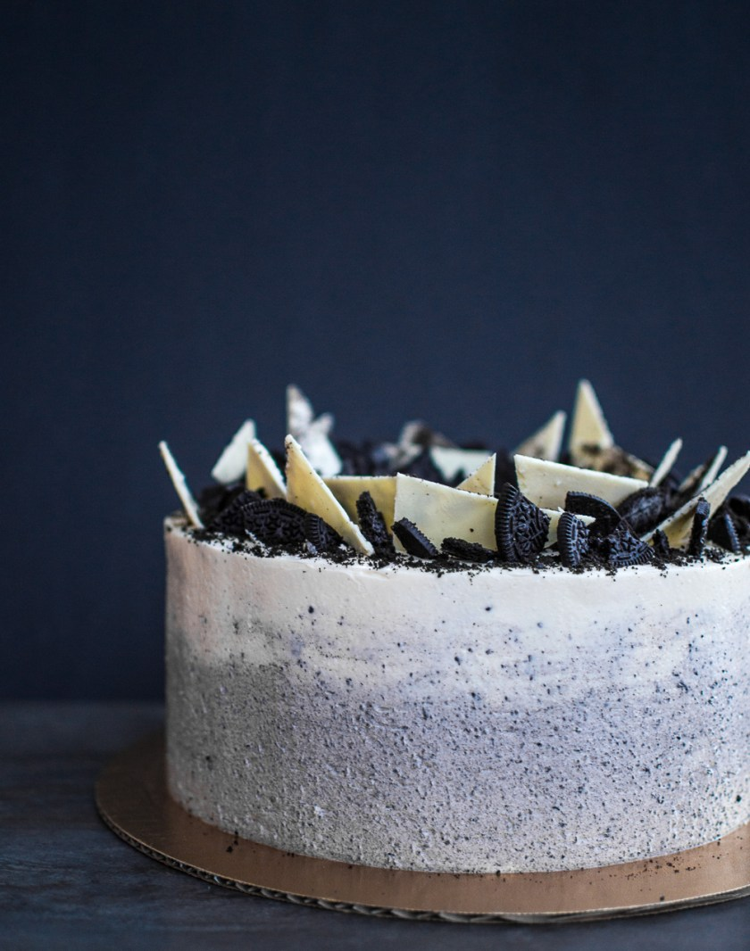 ombre oreo chocolate cake-6