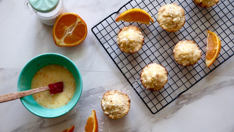 Zesty Orange Sour Cream Muffins