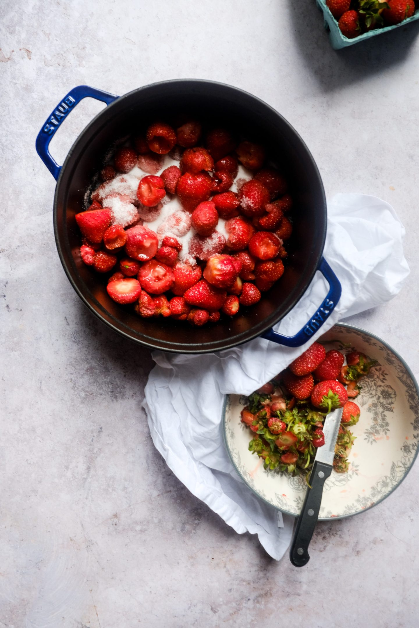 Chocolate and Lace shares her recipe for easy Strawberry Jam